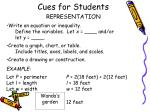 cues for students1