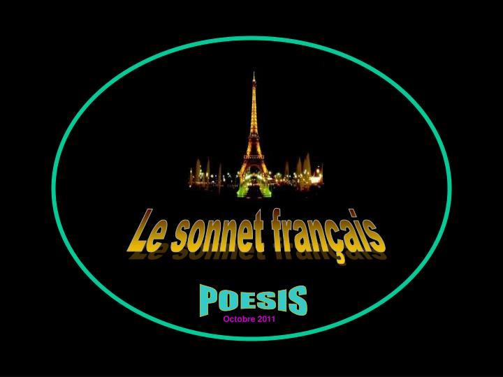 Le sonnet français