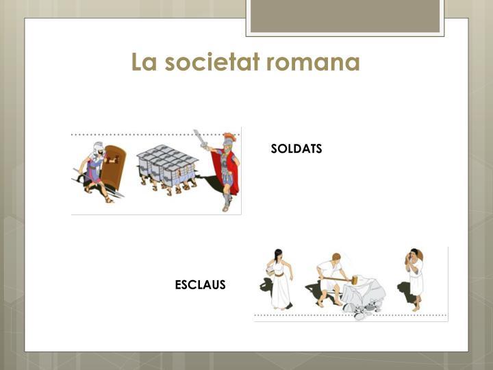 La societat romana