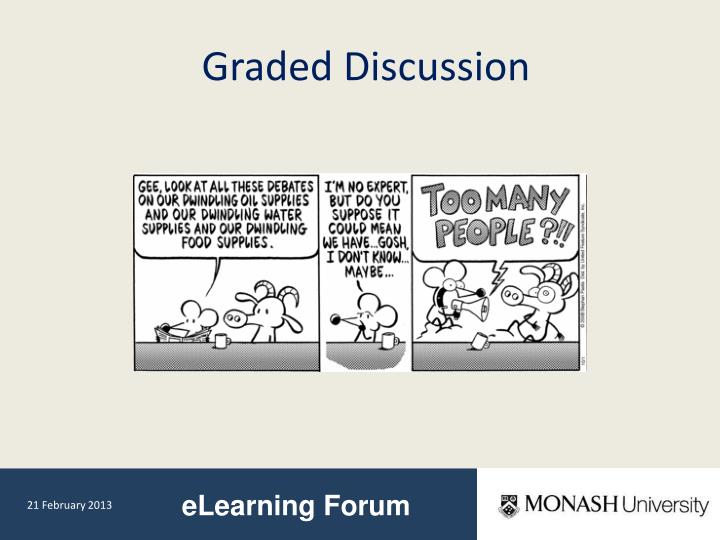 Graded Discussion