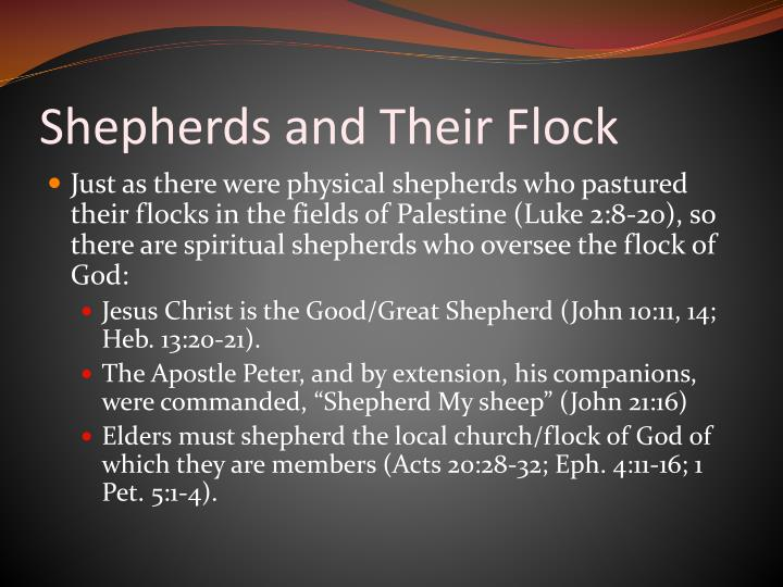 Shepherds and Their Flock