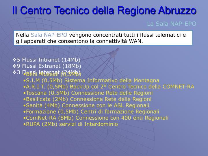 Il Centro Tecnico della Regione Abruzzo