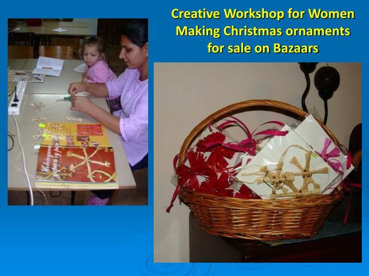 Creative Workshop for Women