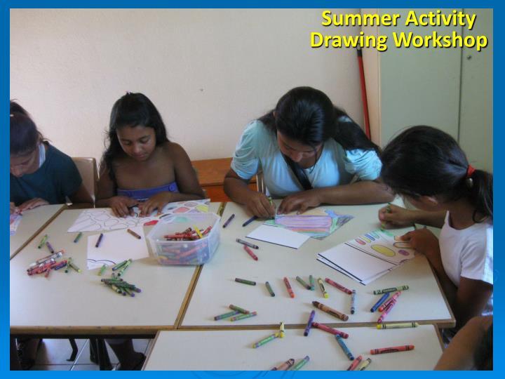 Summer Activity Drawing Workshop