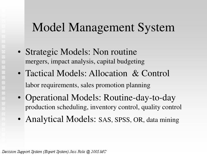 Model Management System