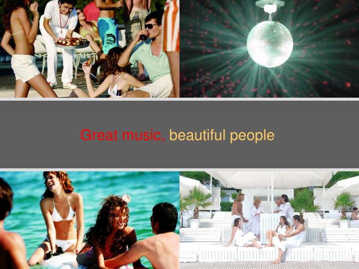 Great music,