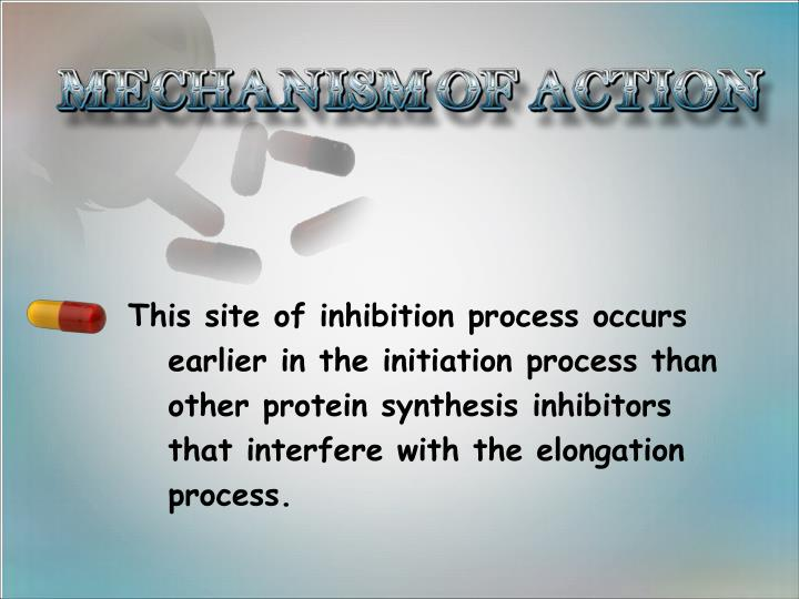 This site of inhibition process occurs