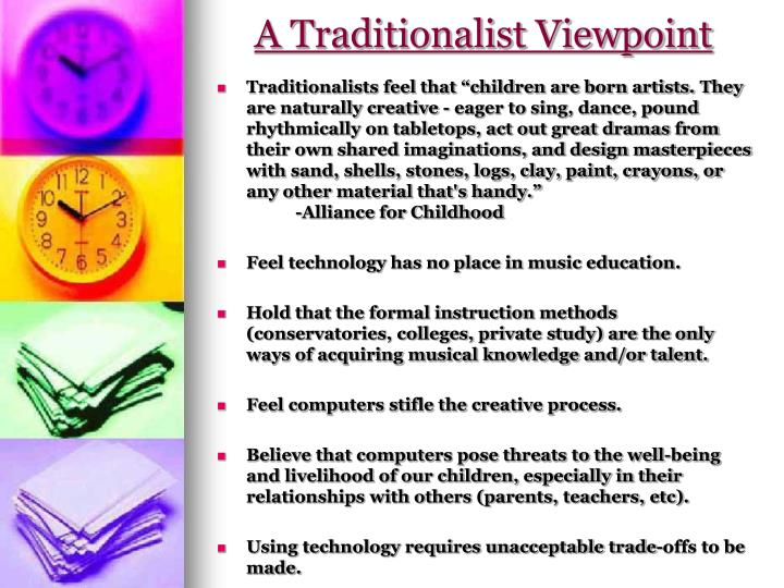A Traditionalist Viewpoint