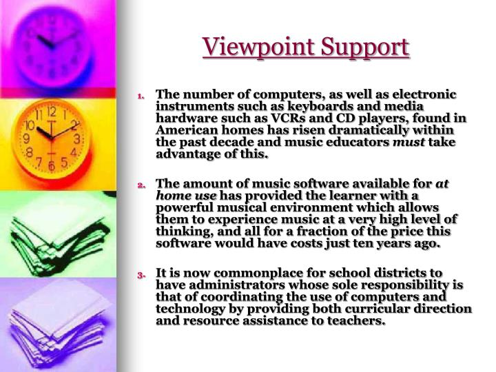 Viewpoint Support