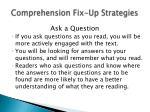 comprehension fix up strategies2