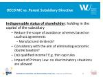 oecd mc vs parent subsidiary directive1