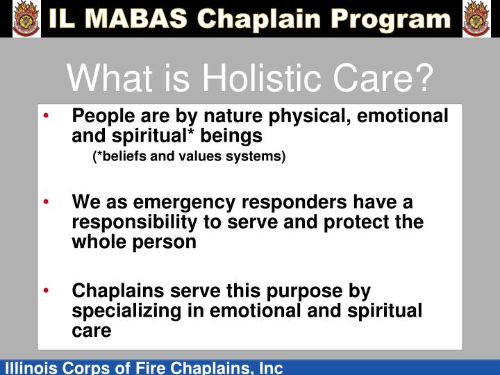 What is holistic care
