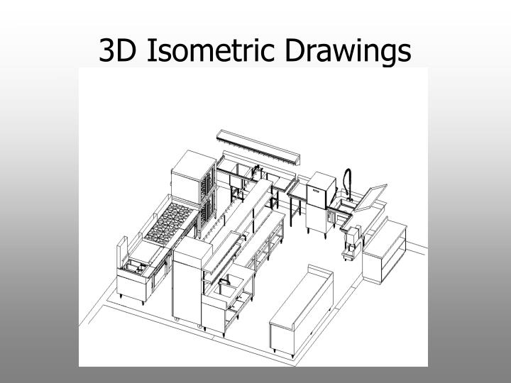 3D Isometric Drawings