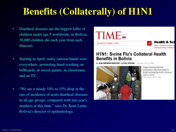 Benefits (Collaterally) of H1N1