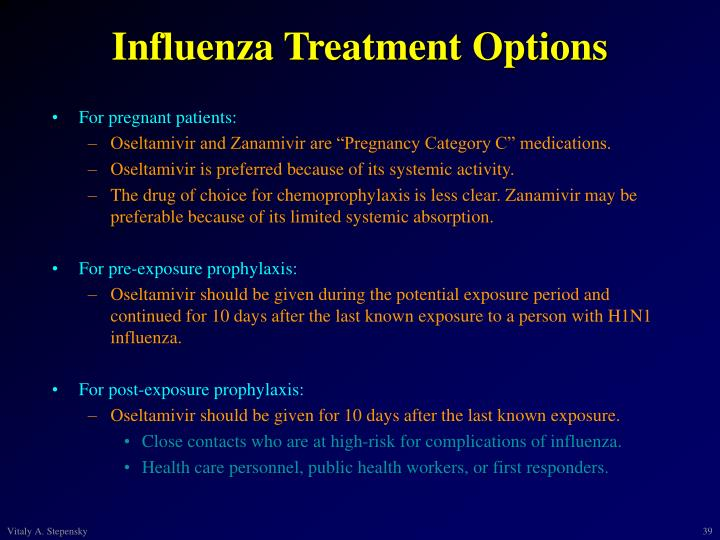 Influenza Treatment Options