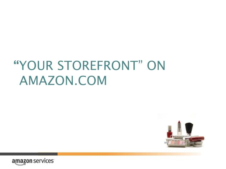 your storefront on amazon com n.