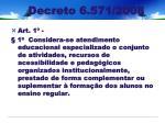 decreto 6 571 2008