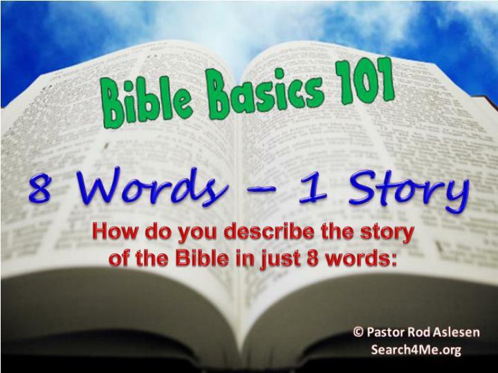 How do you describe the story