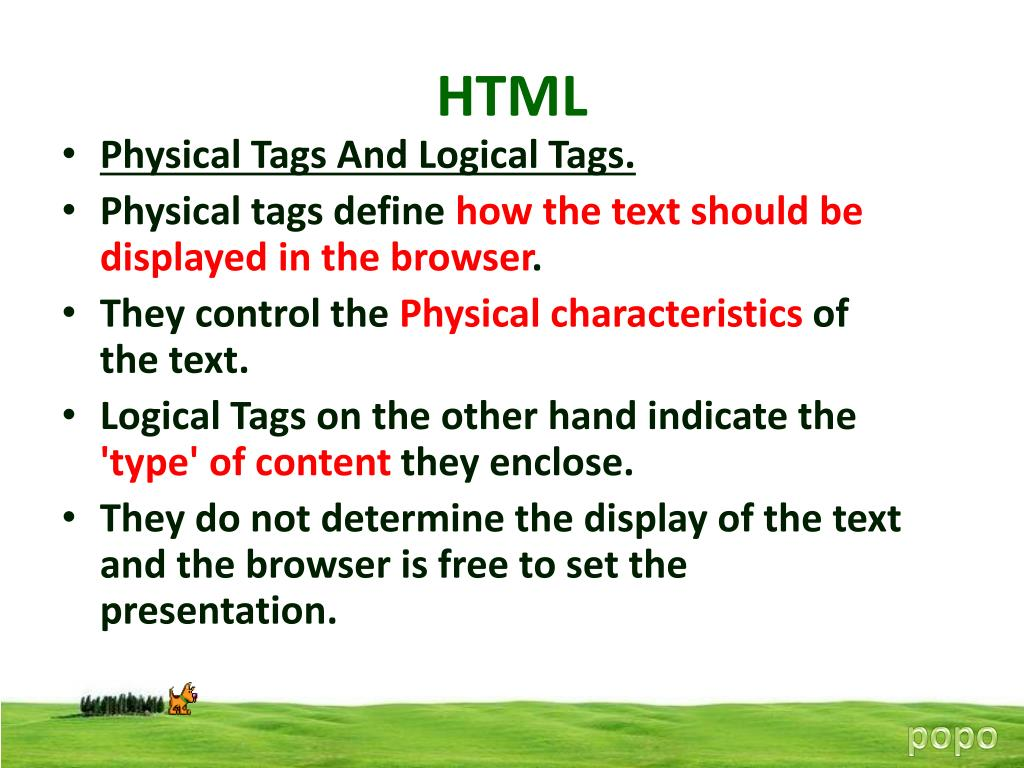PPT - HTML PowerPoint Presentation - ID:4918799