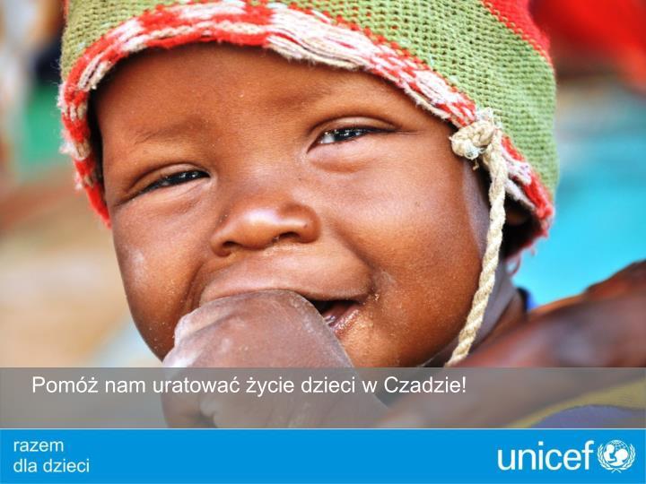 Pomóż nam uratować życie dzieci w Czadzie!