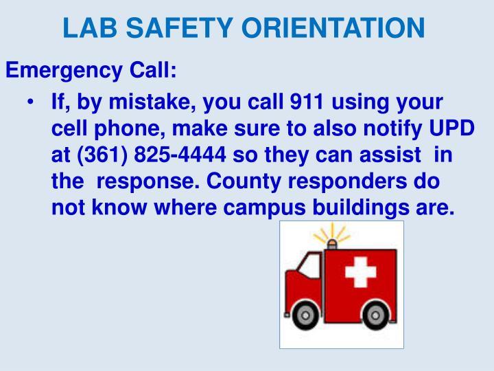 Emergency Call: