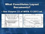 what constitutes layout documents2