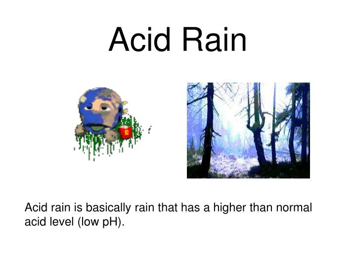 acid rain paper News about acid rain, including commentary and archival articles published in the new york times.