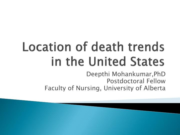 location of death trends in the united states n.