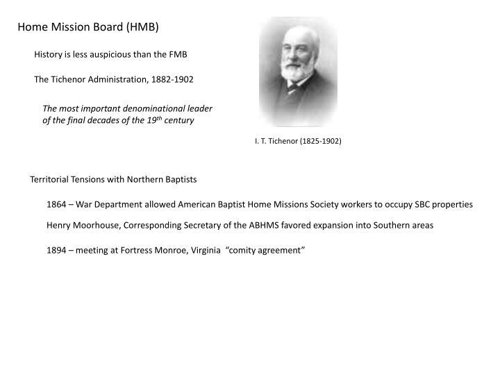 Home Mission Board (HMB)