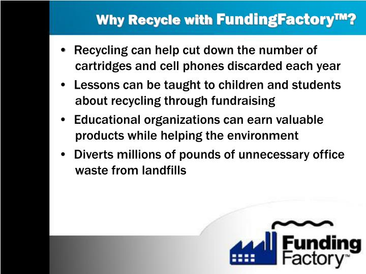 Why Recycle with