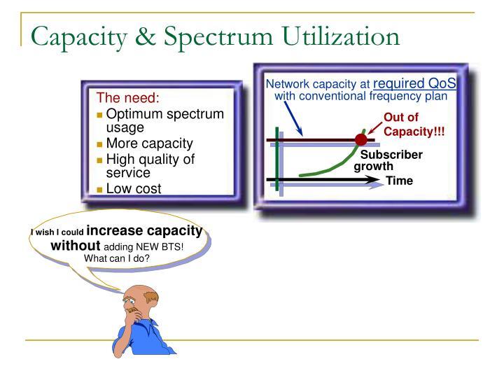 Network capacity at