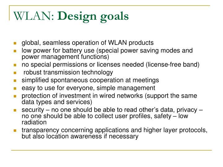 WLAN: