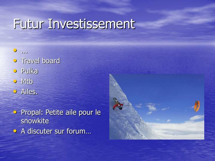 Futur Investissement
