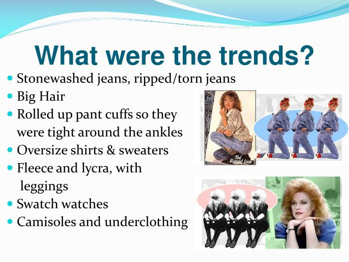 What were the trends?