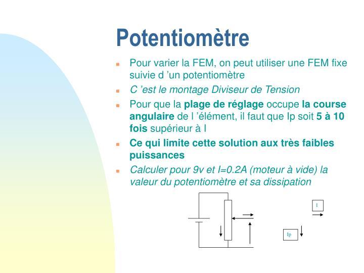 Potentiomètre