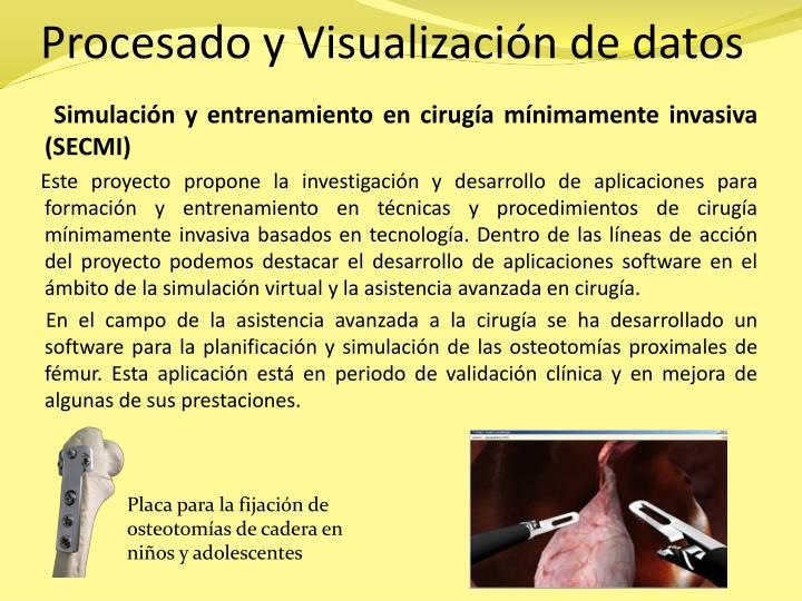 Procesado y Visualización de datos