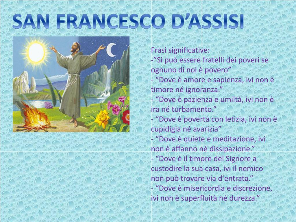 Ppt San Francesco D Assisi Powerpoint Presentation Free