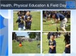 health physical education field day