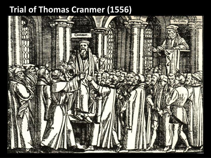 Trial of Thomas Cranmer (1556)