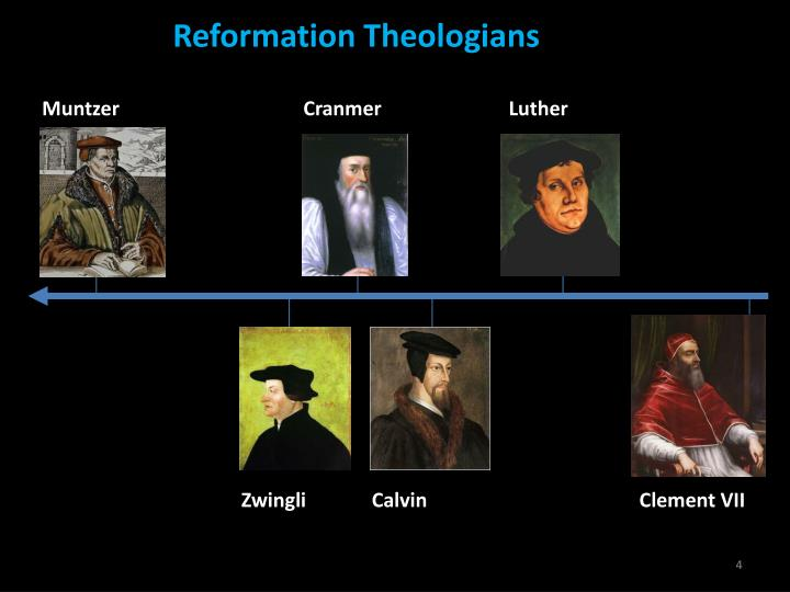 Reformation Theologians