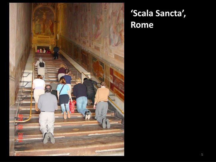'Scala Sancta',