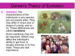 darwin s theory of evolution3