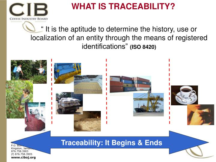 WHAT IS TRACEABILITY