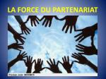 la force du partenariat1