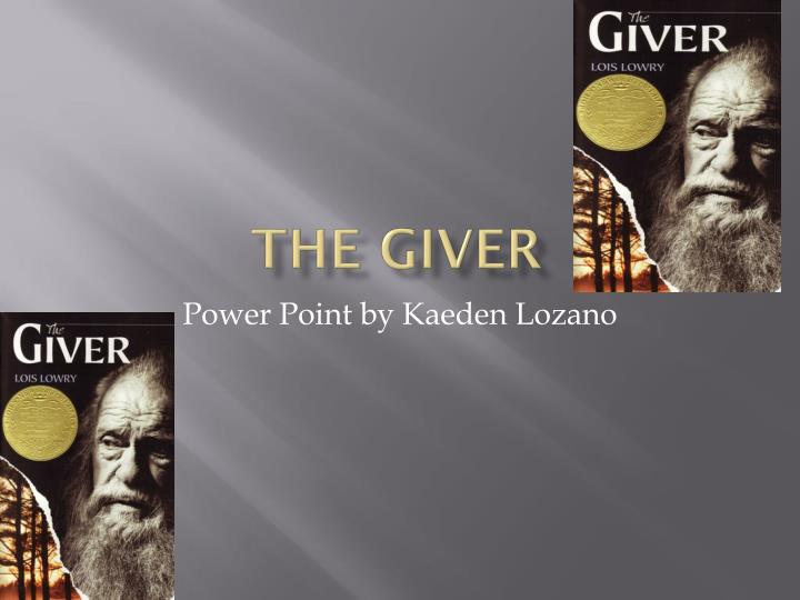 """theme in the giver This study guide helps you break down and understand the literary elements of """"the giver, including its plot, setting, characters, point of view, conflicts and themes slide 1 of 6 plot the most basic of the literary elements of """"the giver is the plot """"the giver is the story of a young boy named jonas who lives in a dystopian society."""