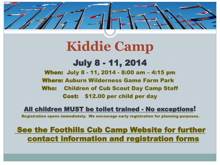 Kiddie Camp