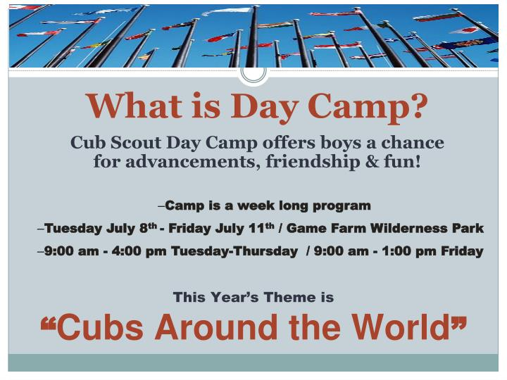 What is Day Camp?