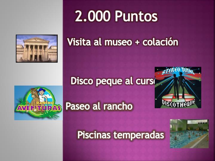 2.000 Puntos