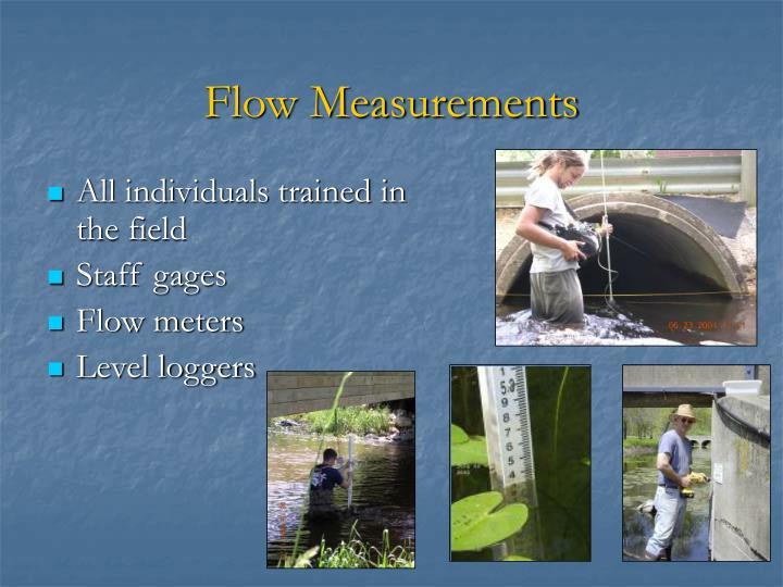 Flow Measurements