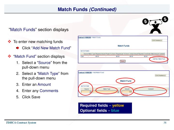 Match Funds